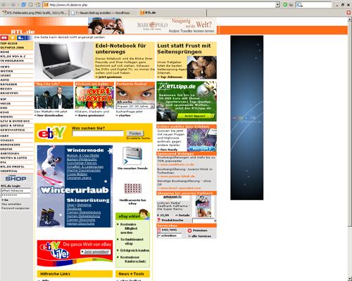 Eindeutige RTL 404 Fehlerseite